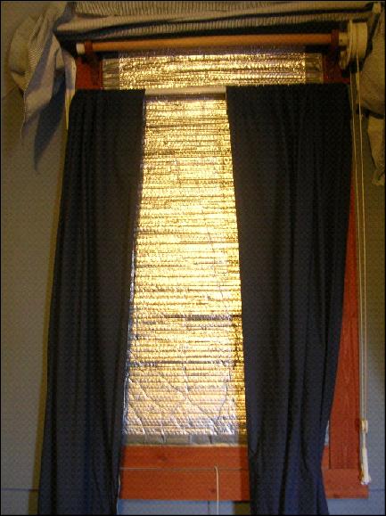solar insulating curtains